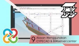 9 Alasan Menggunakan CYPECAD dan BIMserver.center - cype indonesia - software arsitektur engineering dan konstruksi