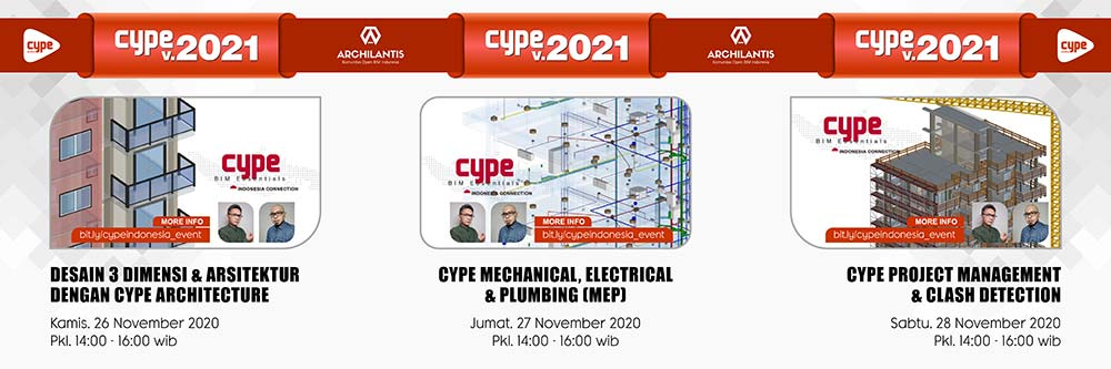 online webinar cype indonesia - cype software archilantis - cype 2021